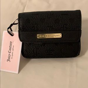 Juicy Couture small wallet Black